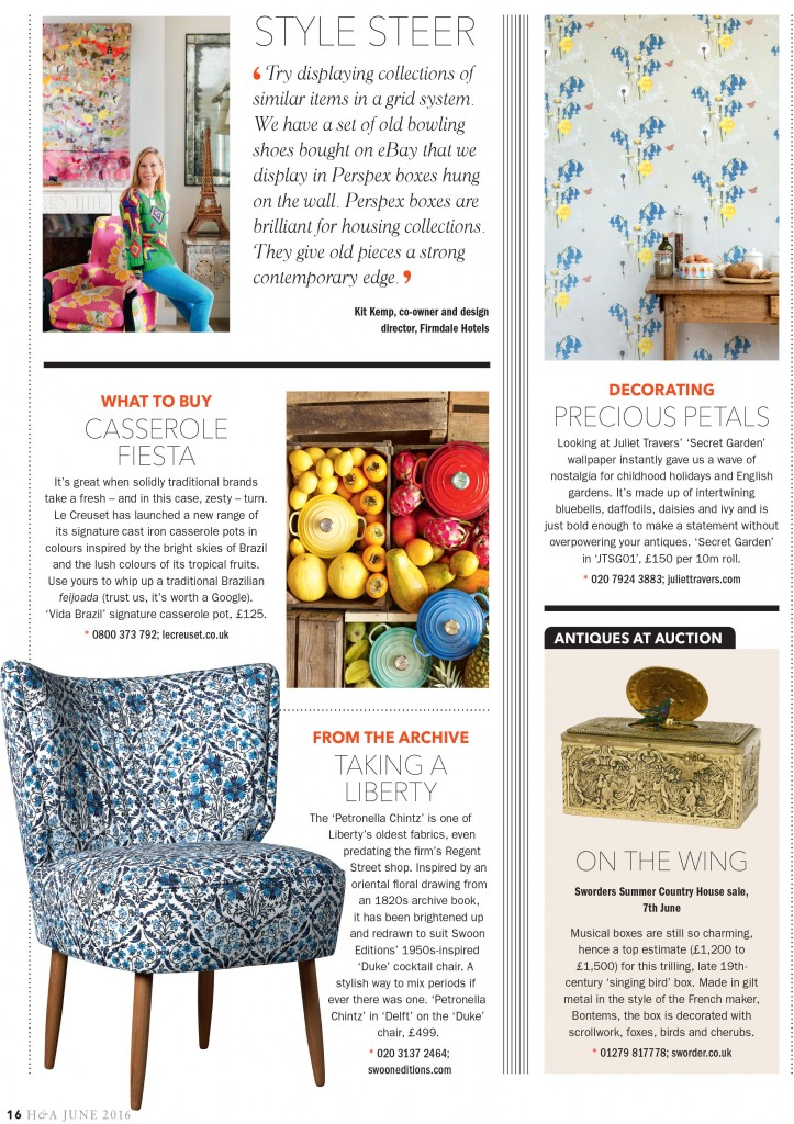 Homes&Antiques page